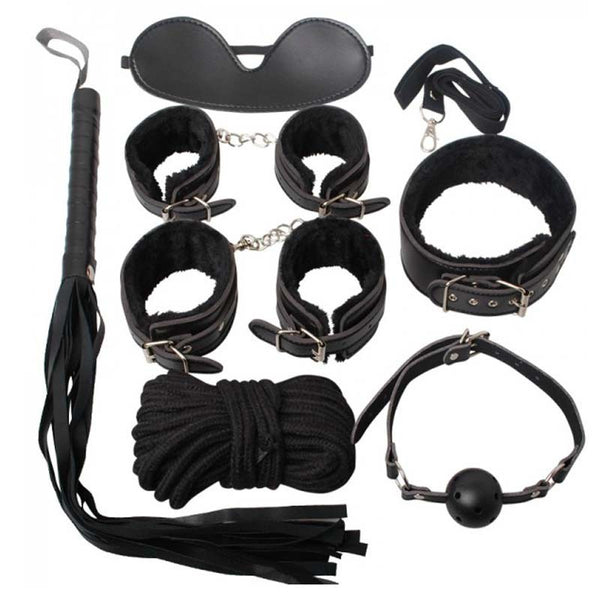 7pcs Bondage Kits SM Adult Sex Toys Bondage Restraint Set