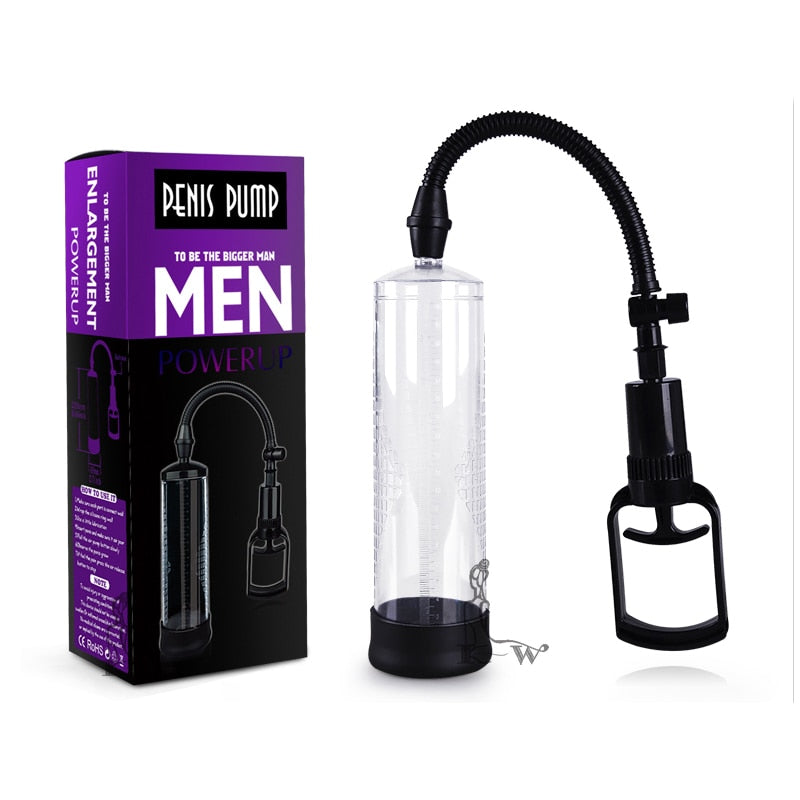 Penis Pump Penis Enlargement Vacuum Pump Penis Extender Man Sex Toys Penis Enlarger Adult Sexy Product for Men