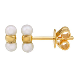 Mini Pearl Bar Studs