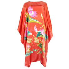 Lotus Lounge Satin Kaftan
