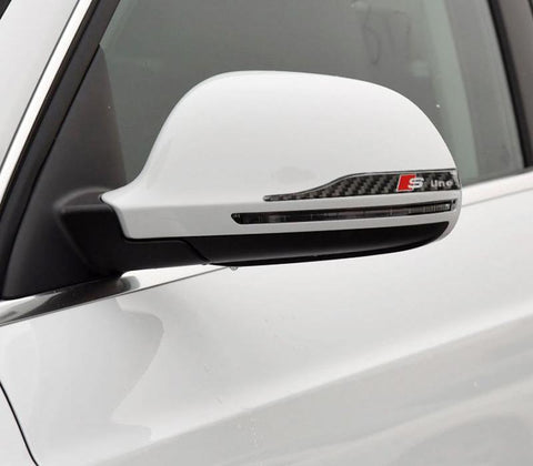 Audi Carbon Fiber Side Mirror Mod