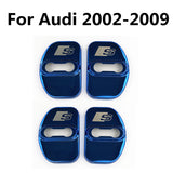 "Audi Steel ""S"" Emblem Door Lock Covers"