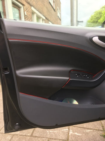 Audi Interior Accent Colors (Red, Blue, Silver, Gold)