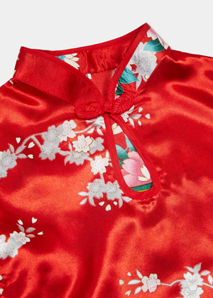 Childrens Print Cheongsam