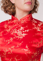 Cherry Blossom Blouse Red
