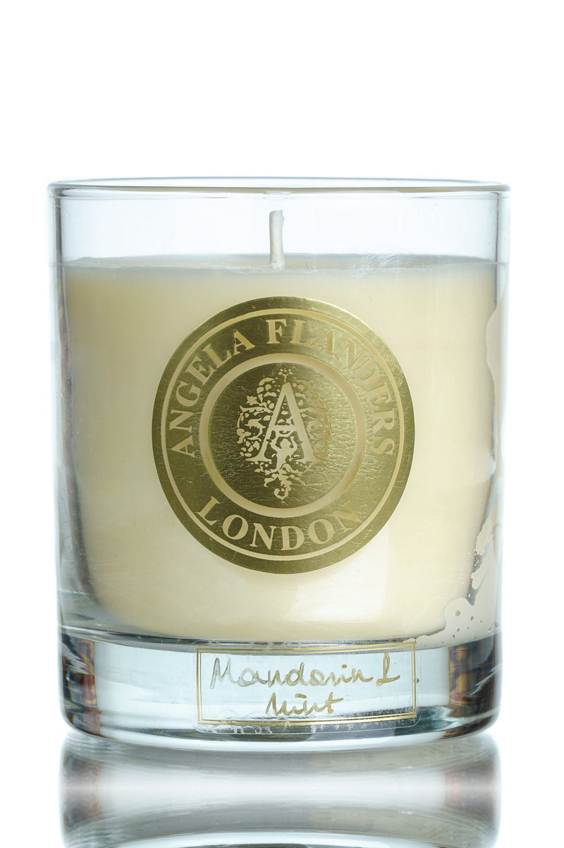 Lime Flowers Candle