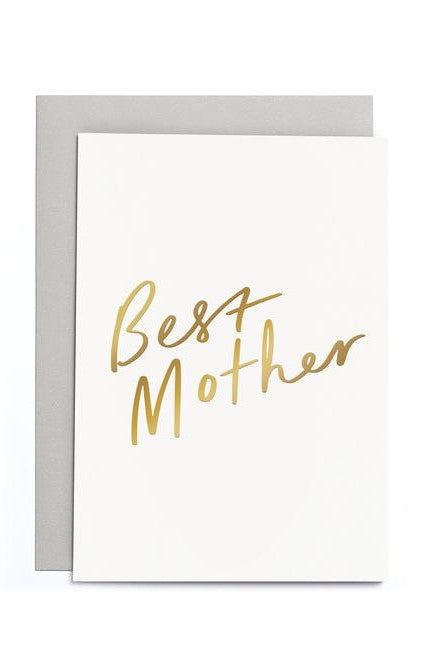 Best Mother - Greetings Card