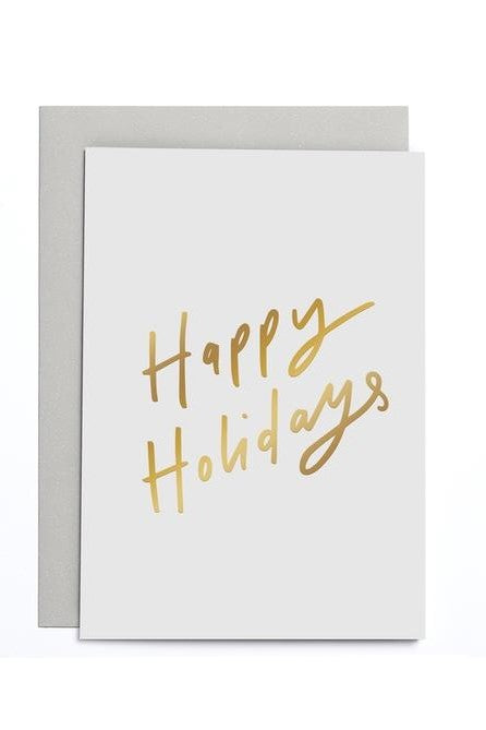 Happy Holidays - Greetings Card