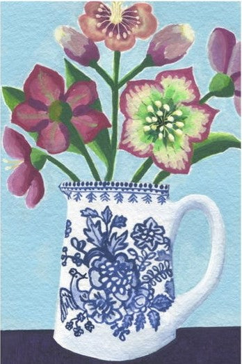 Hellebore - Greetings Card
