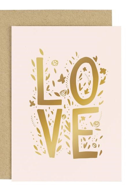 Love - Greetings Card