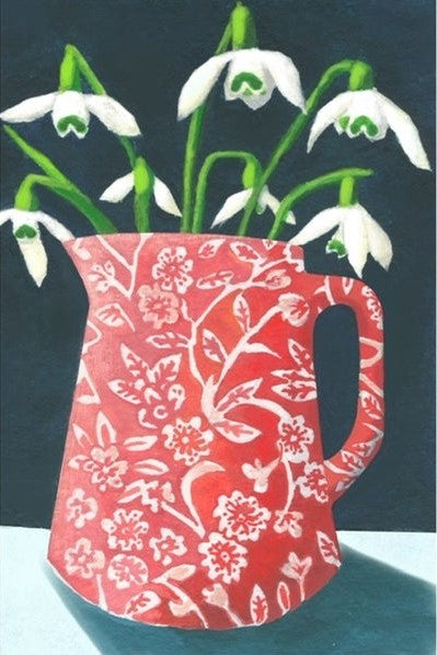 Snowdrops - Greetings Card