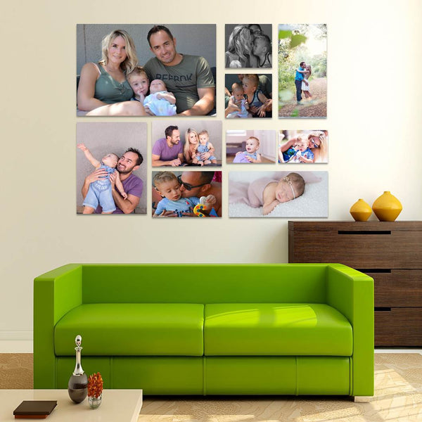 10 Piece Canvas Print Combo - SAVE BIG!
