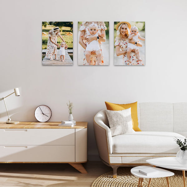 3 x A4 Canvas Print Combo Special!