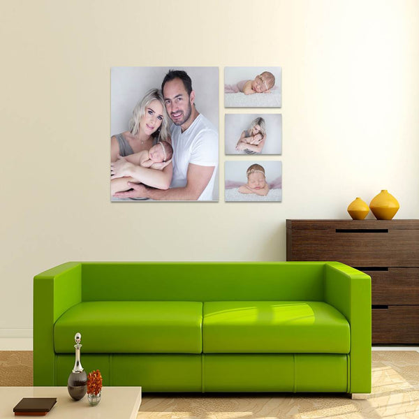 4 Piece Canvas Print Combo Special Custom Canvas Canvas & More