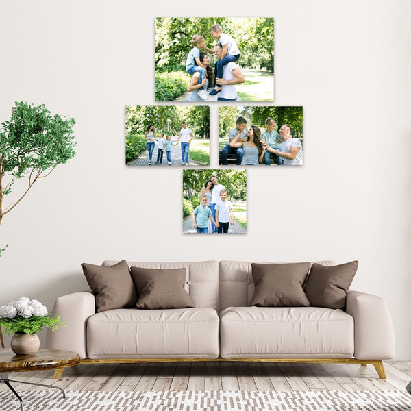 DAILY DEAL: 4 Piece Canvas Print Combo Deal Canvas & More