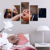 5 Piece Split Canvas Print Combo