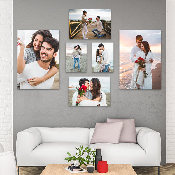 DAILY DEAL: 6 Piece Rectangles Canvas Print Combo!