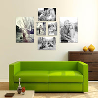 6 Piece Rectangles Canvas Print Combo Special