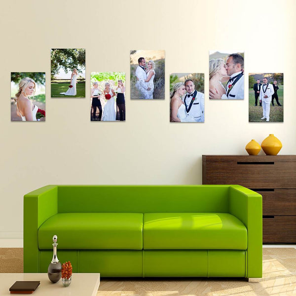 7 Piece A4 Canvas Print Combo Special