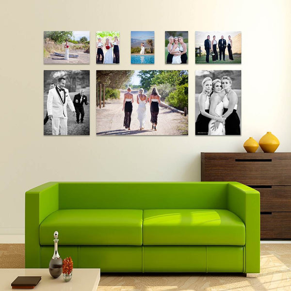 8 Piece Deluxe Canvas Print Combo Special