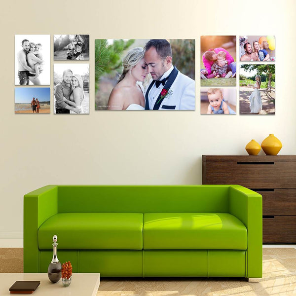 9 Piece Canvas Print Combo Special - NOW almost 60% OFF! Custom Canvas Canvas & More