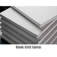 Starter Pack - Blank Artist Stretched Canvas
