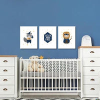 Set of 3 Boys - Wild and Free Canvas & More