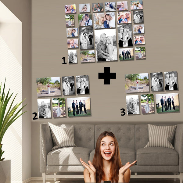 Mega Memory Wall PLUS 2 x 6 piece combos FREE (34 prints total!)
