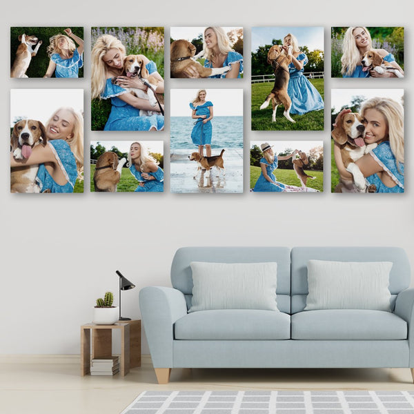 Premium 10 Piece Combo now less 70% off PLUS A2, A3 & A4 FREE! Custom Canvas Canvas & More