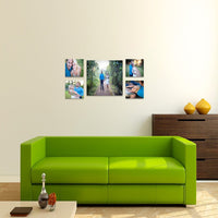 5 Piece Square Canvas Print Combo Special