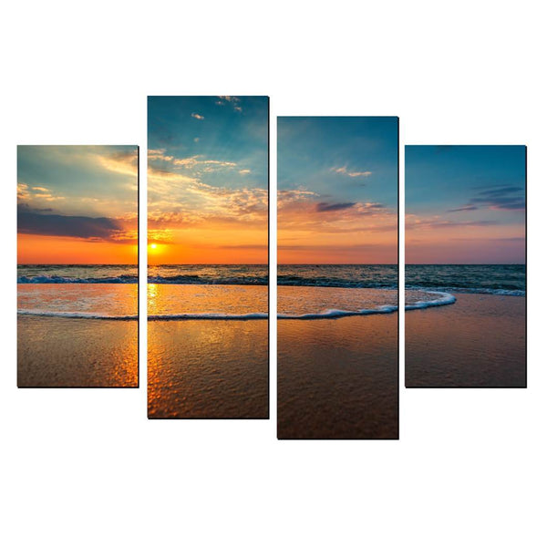 4 Piece Staggered Split Canvas Print ComBo Canvas & More