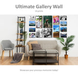 14 Piece Gallery Wall Canvas Print Combo