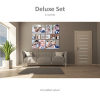 Deluxe Set - 11 ready-to-hang Canvas Prints Canvas & More