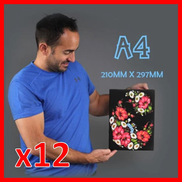 Buy 12 x A4's and save!
