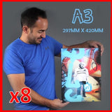Buy 8 x A3's and save! Canvas & More