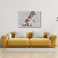 Dog Collage Canvas & More