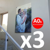 Buy 1 VERY Large Feature Canvas (825x1020mm) Canvas and get 2 FREE! Canvas & More