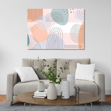 Set of 1: Abstract Trendy Universal (Varios options to choose from) Canvas & More