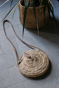 Crossbody Palm Bag