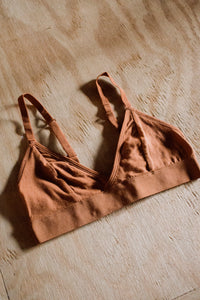 Richer Poorer Bralette Tobacco
