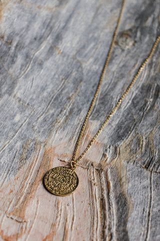 Phaistos Disc Pendent Necklace