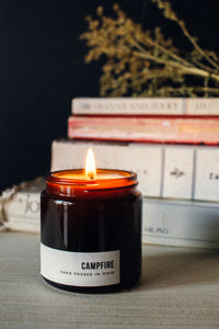 Campfire Travel Candle