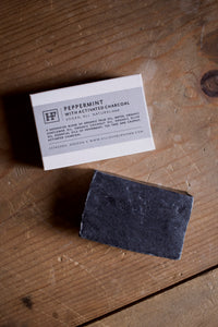 Activated Charcoal Peppermint Soap