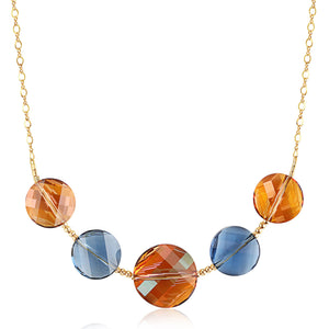Twisted Swarovski Necklace - ijeweled