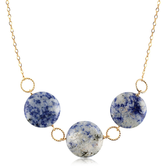 Sodalite Gemstone Necklace - ijeweled