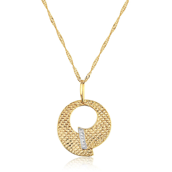 Overlapping Circle Pendant - ijeweled