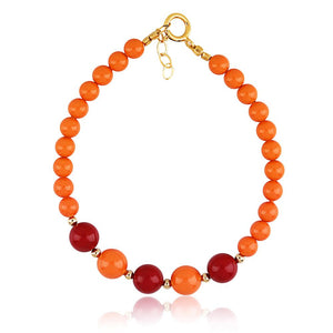 Coral And Red Bracelet - ijeweled