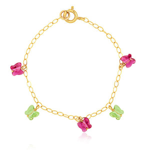Crystal Butterfly Bracelet - ijeweled