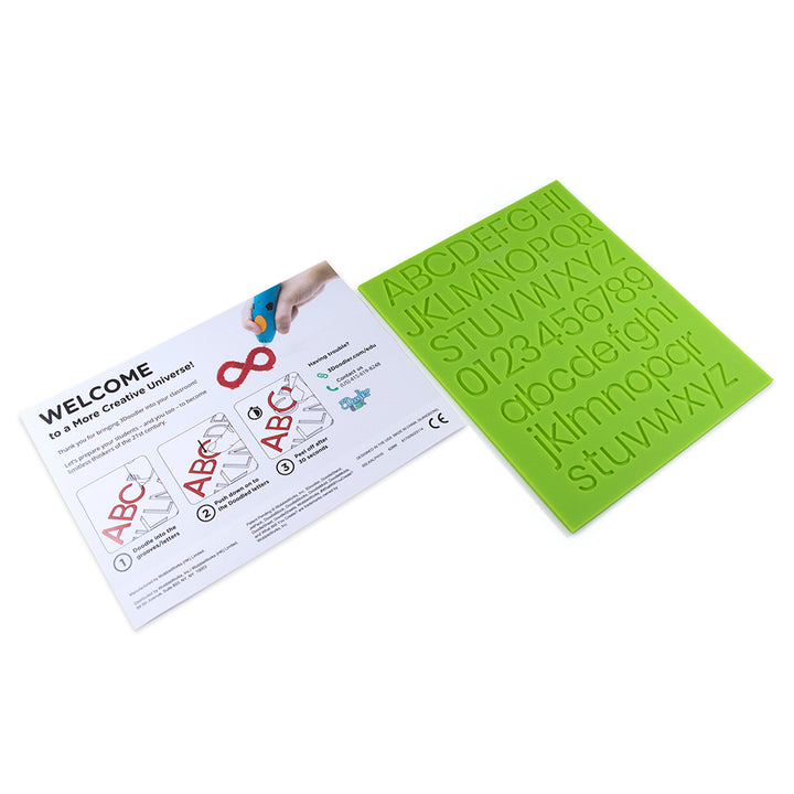 3Doodler Alphabet Learning DoodleBlock® - Start Accessories