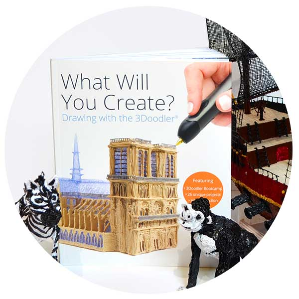 "3Doodler ""What Will You Create?®"" Project Book - Create Accessories"